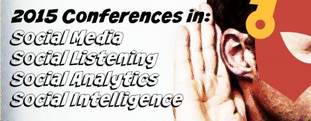 Social Media Conferences 2015